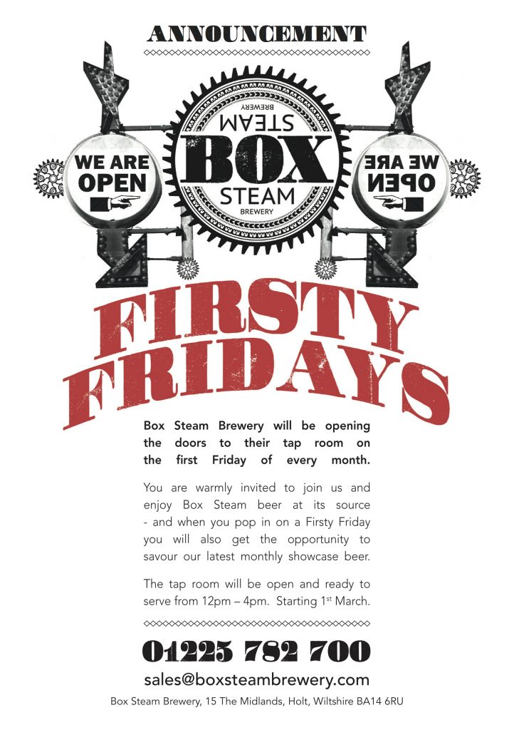 Firsty Friday flyer