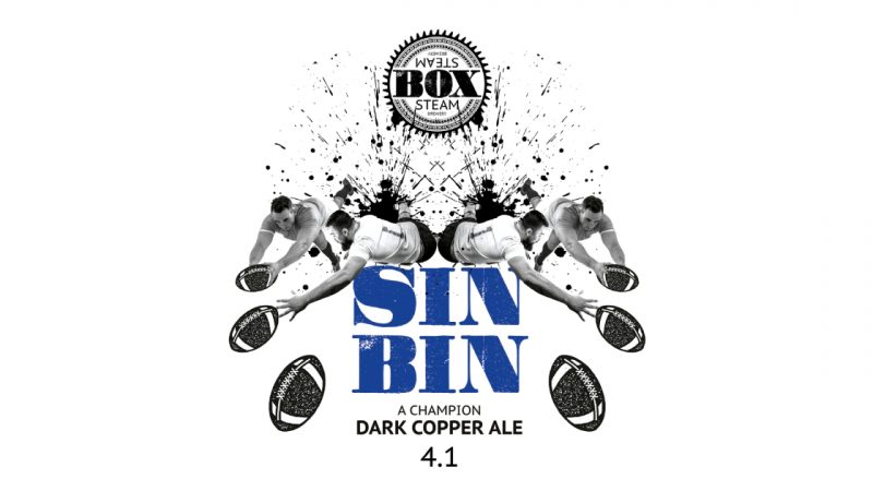Sin Bin copper ale, available during the 6 Nations rugby tournament