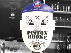 Piston Broke Bath Rugby Ladies pump clip